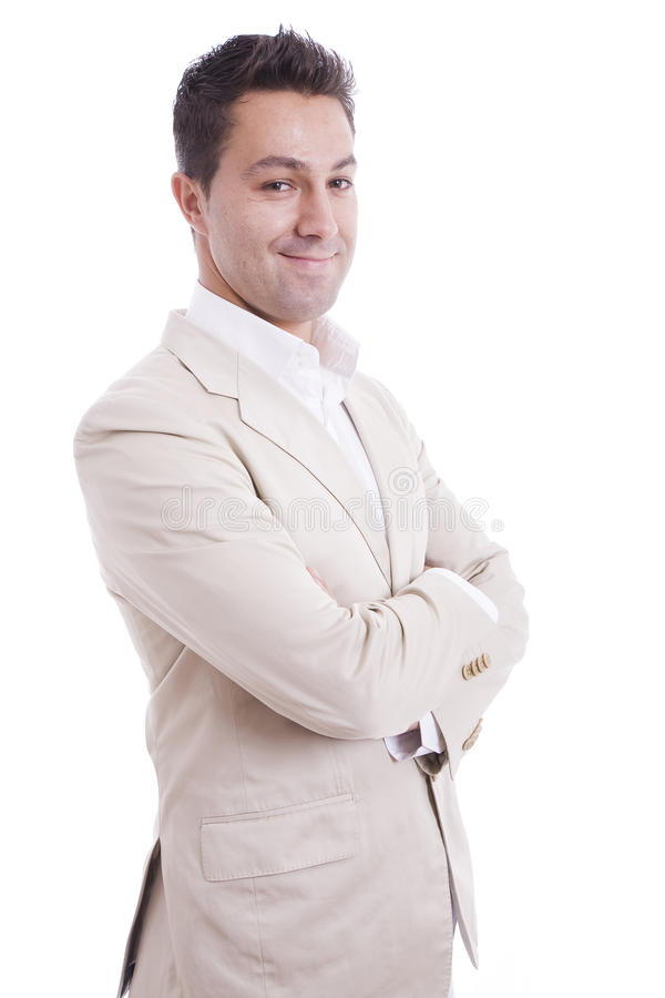 Download Charming man smiling stock image. Image of businessman - 11857703