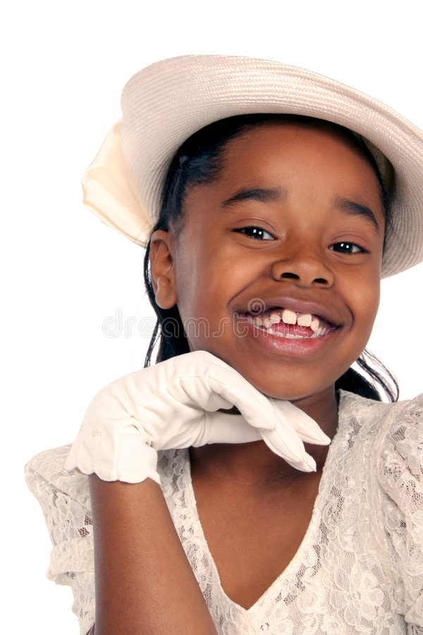 Charming young girl stock images