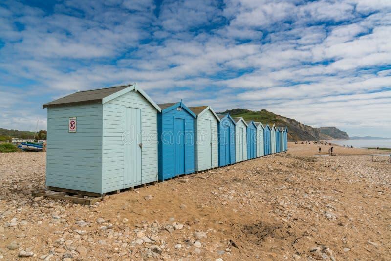 Charmouth strand, Jurassic kust, Dorset, UK arkivfoto