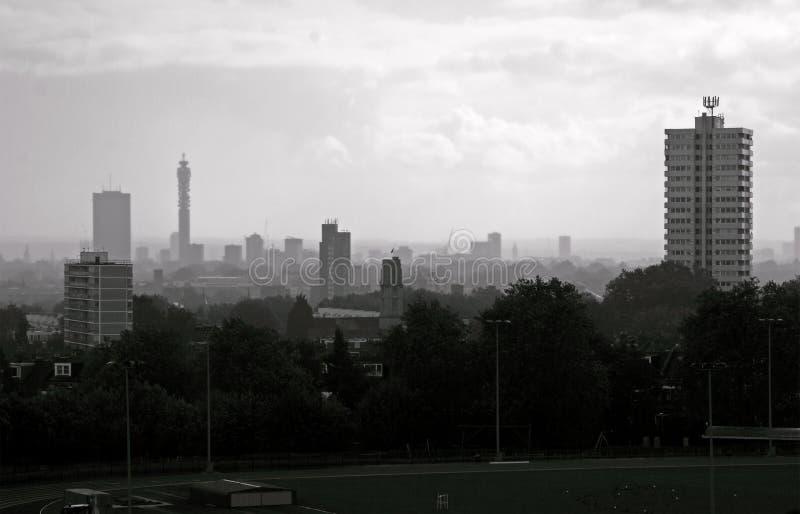 Charneca de Hampstead, Londres fotografia de stock