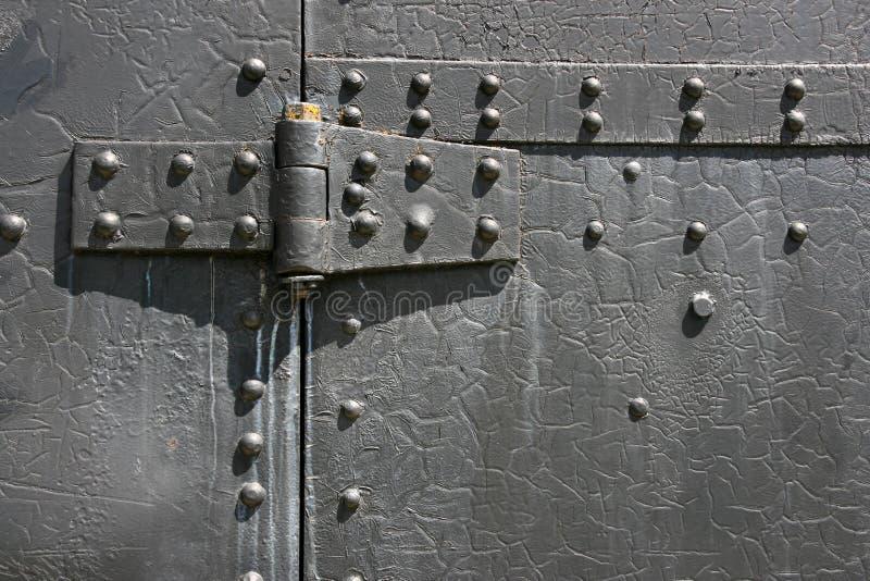 Charnière en métal image libre de droits