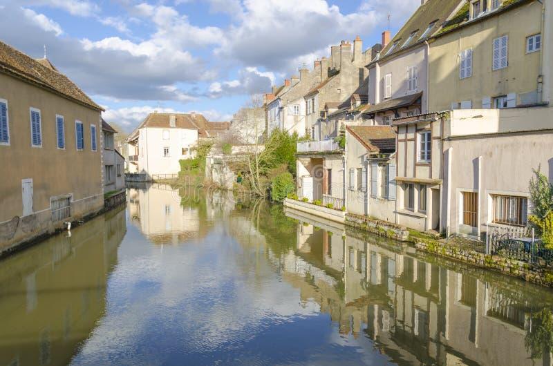 Charolles, Borgoña, Francia, el saone-y-Loira imagen de archivo libre de regalías