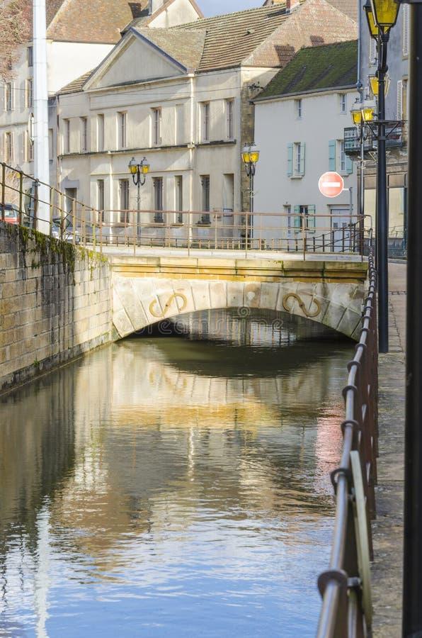 Charolles, Bourgondië, Frankrijk, saone-et-Loire stock foto