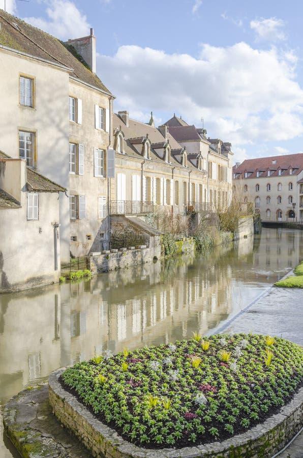 Charolles, Bourgondië, Frankrijk, saone-et-Loire royalty-vrije stock foto