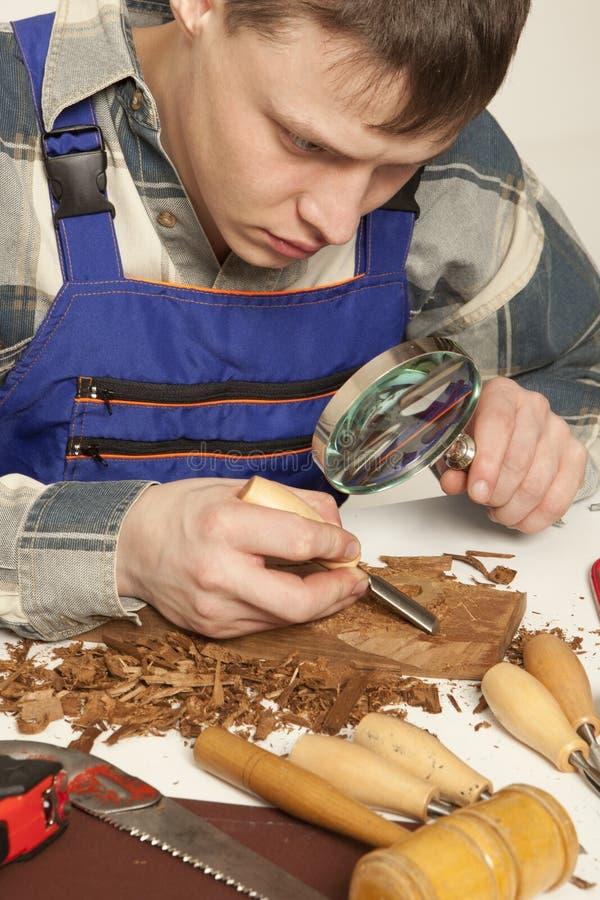 charpentier image stock