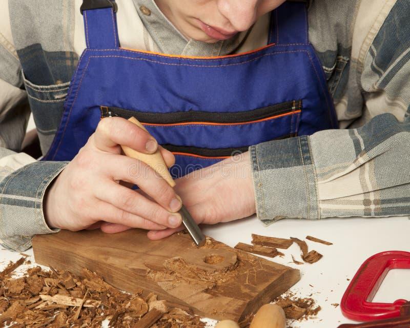 charpentier photographie stock libre de droits