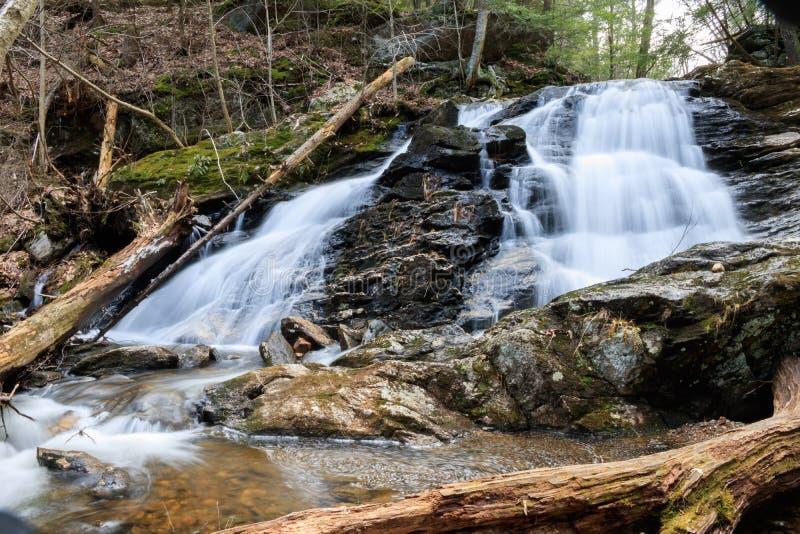 Charpentier Falls une journée de printemps tôt images libres de droits