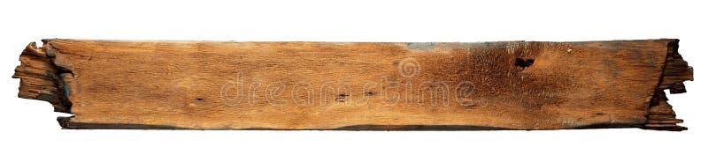 Charred wood board