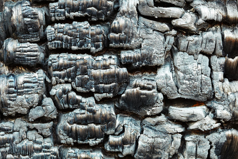 Download Charred Wooden Wall After Fire Stock Image - Image: 14427131