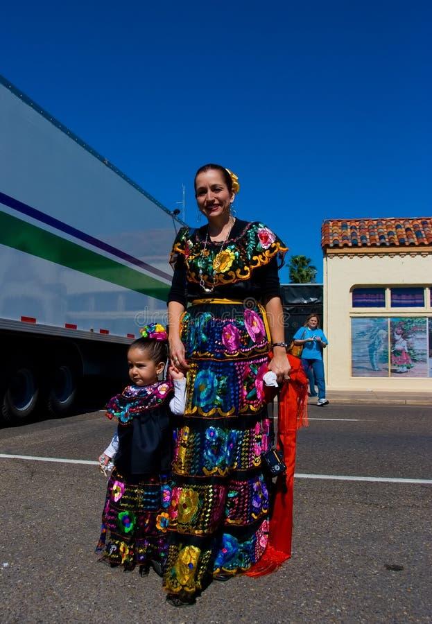 Charro Day Costume royalty free stock photography