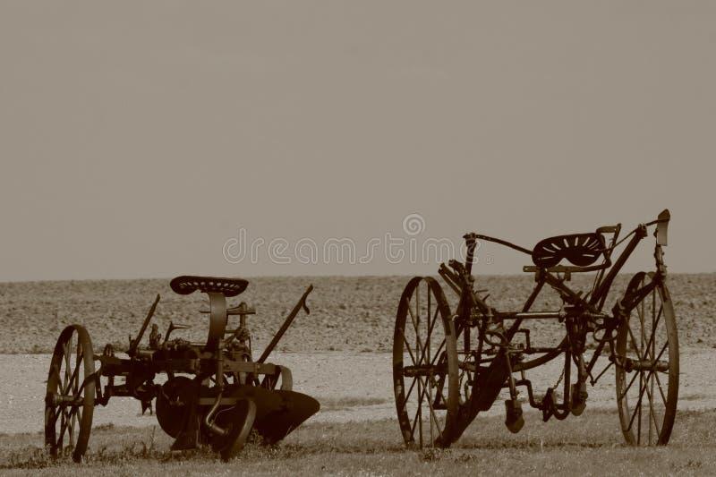 Charrues photo libre de droits