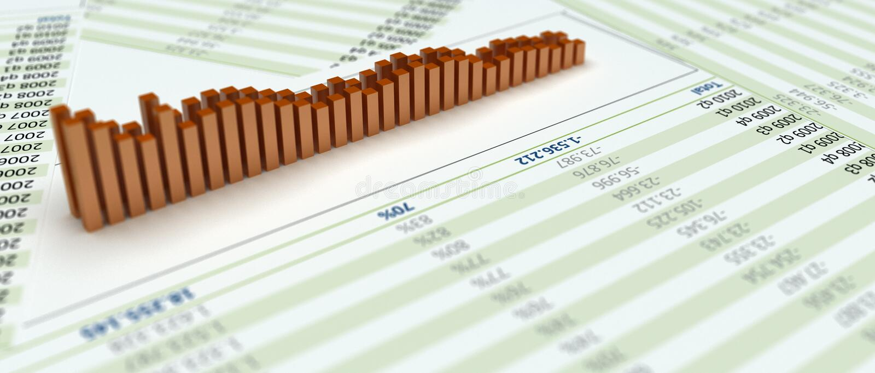Download Chart bars stock illustration. Image of future, diagram - 15323024