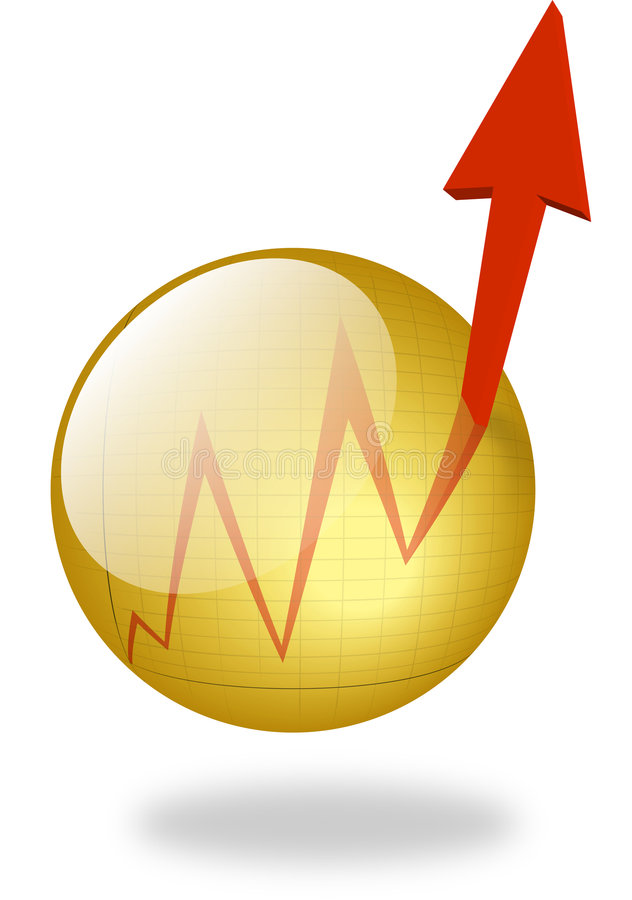 Chart Button stock images