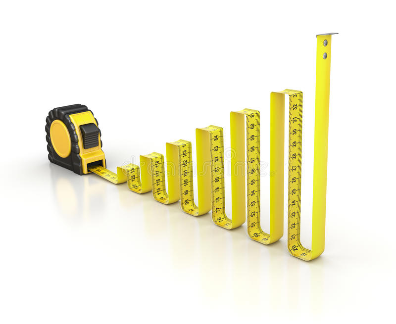 Download Chart concept stock illustration. Image of measure, background - 31430743