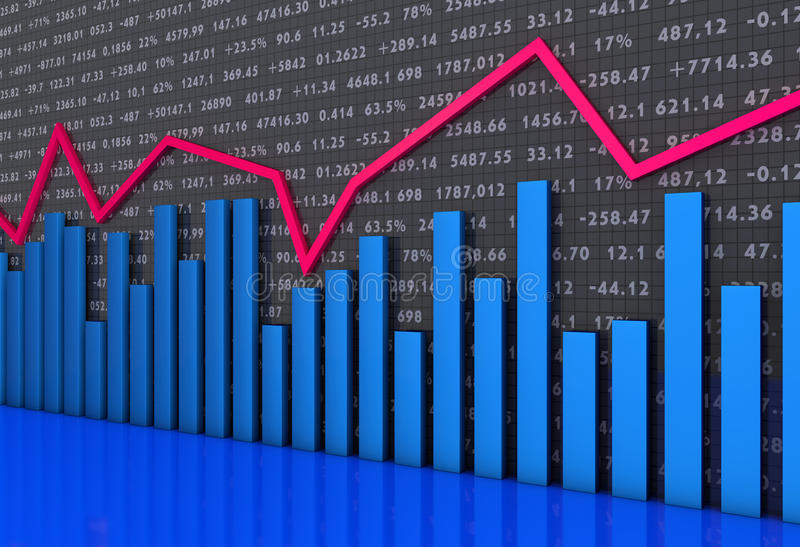 Chart And Graphs Royalty Free Stock Images