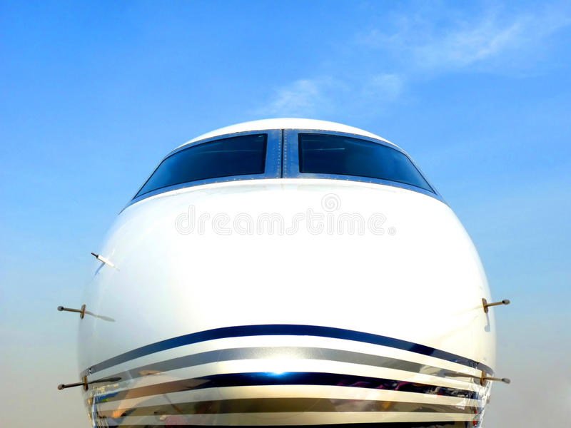 Chartered Plane royalty free stock photo