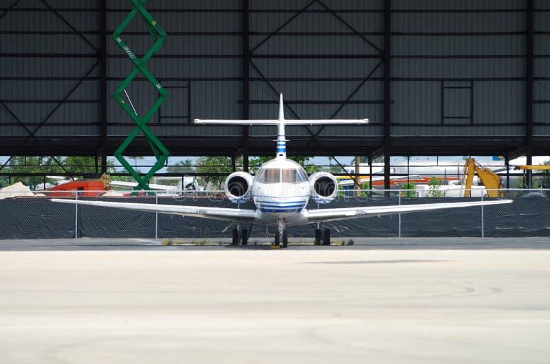 Charterflugzeug lizenzfreie stockbilder