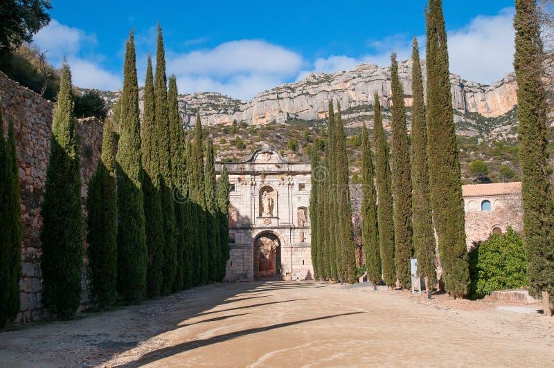 The Charterhouse of Escaladei royalty free stock photo