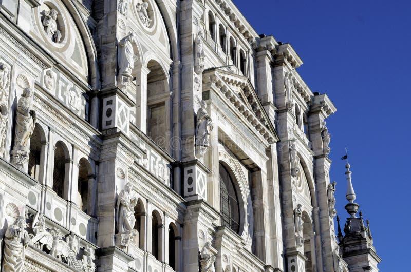 Charterhouse Pavia, Certosa di Pavia -, Włochy obrazy stock