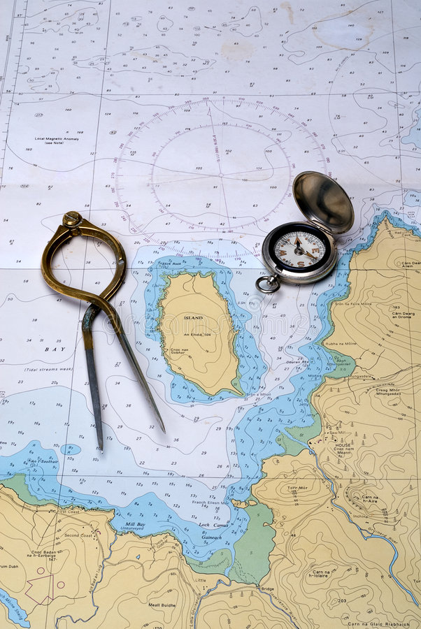 Download Charting the course stock photo. Image of descision, journey - 3979488