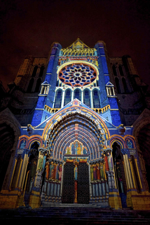 Chartres - catedral foto de stock royalty free
