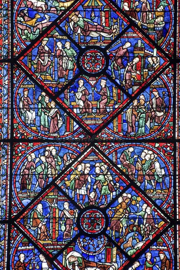 Chartres - catedral fotos de stock