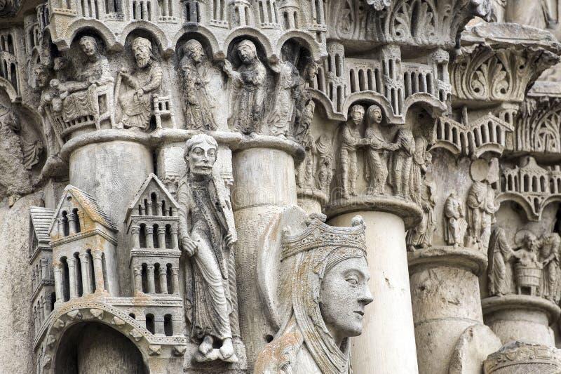 Chartres - catedral fotografia de stock royalty free