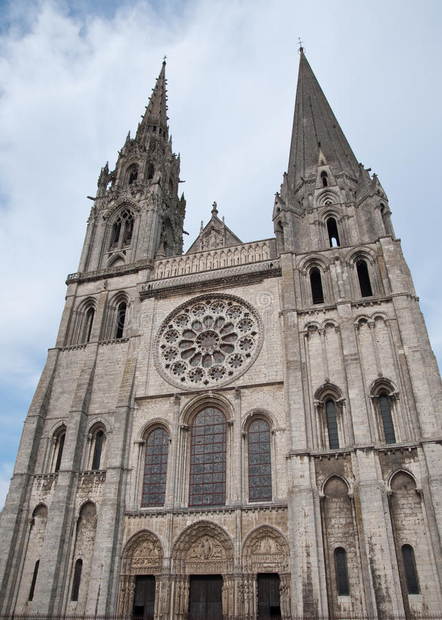 Chartres Cathedral Stock Images