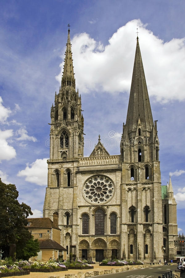 Chartres Cathedrale imagens de stock