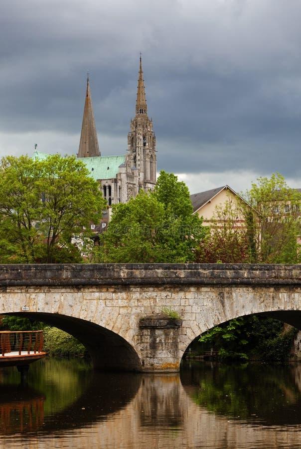 Chartres, France imagem de stock
