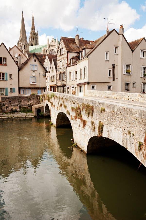 Chartres histórica foto de stock royalty free