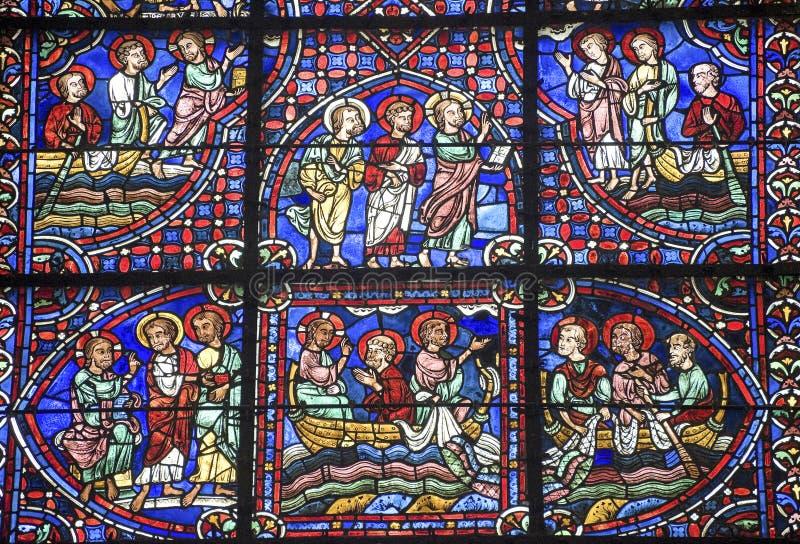 Chartres - Katedra obraz stock
