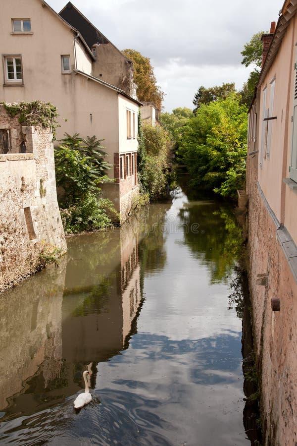 Chartres velha fotografia de stock royalty free