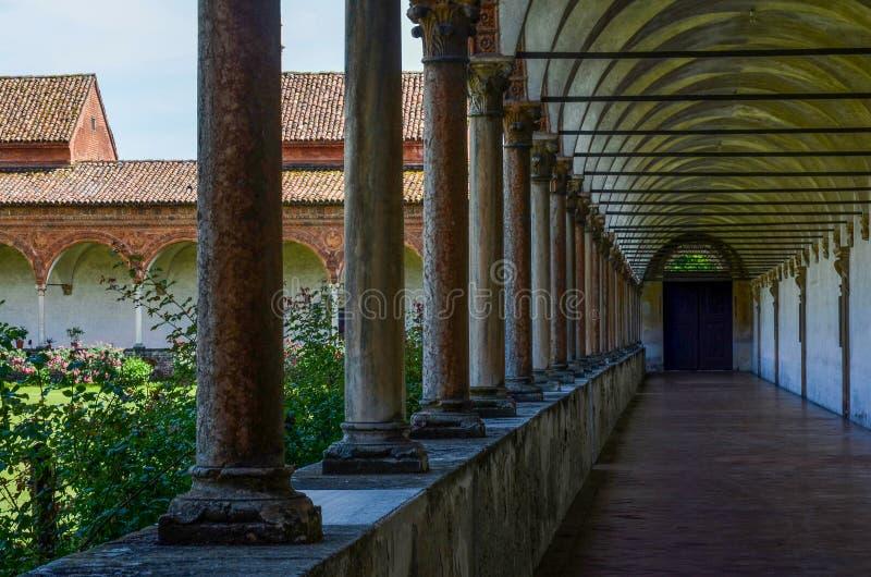 Chartreuse av pavia, kloster arkivbilder