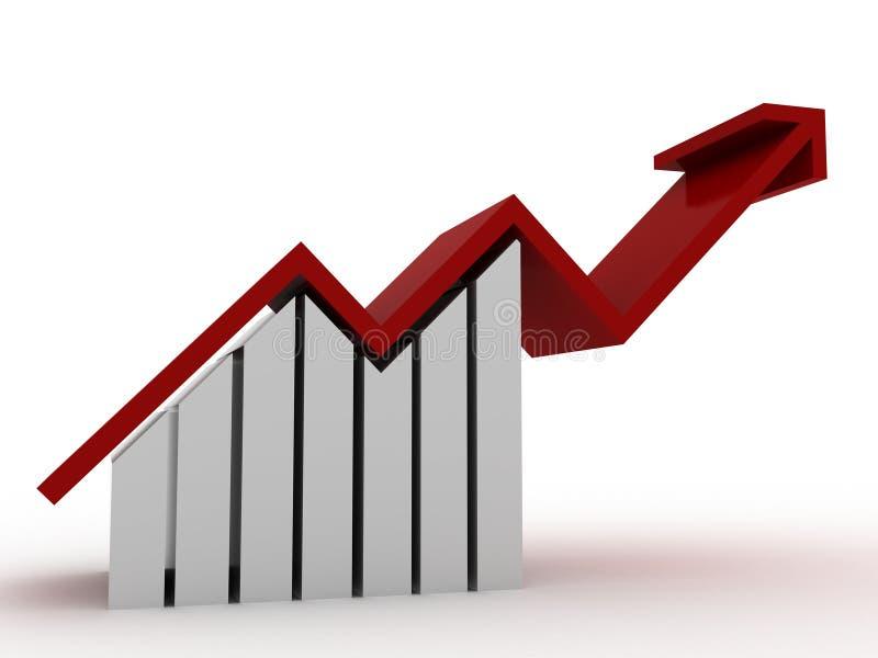 charts progress stock illustrationer