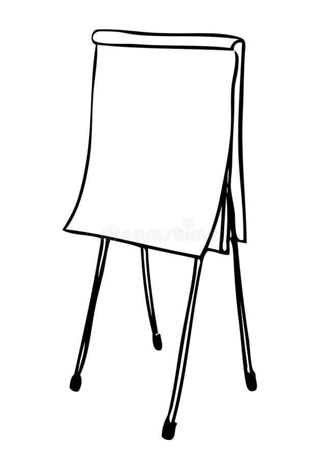 Chartzeichnung (Vektor) stock abbildung