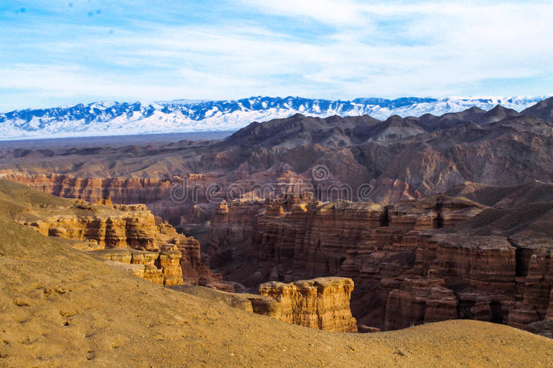 Charyn canyon. Kazakhstan world asia travel charyn canyon mountains almaty activity nature stock photography