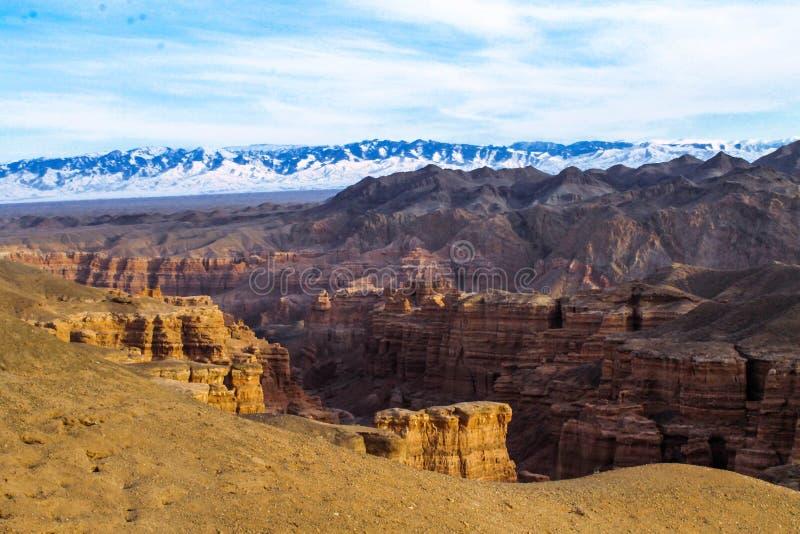 Charyn canyon stock photography