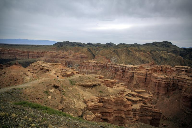 Charyn Canyon. stock photography