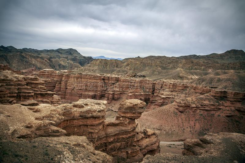 Charyn Canyon. stock image