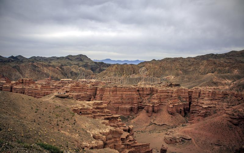 Charyn Canyon. stock photo