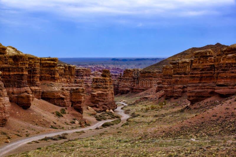 Charyn canyon stock photos