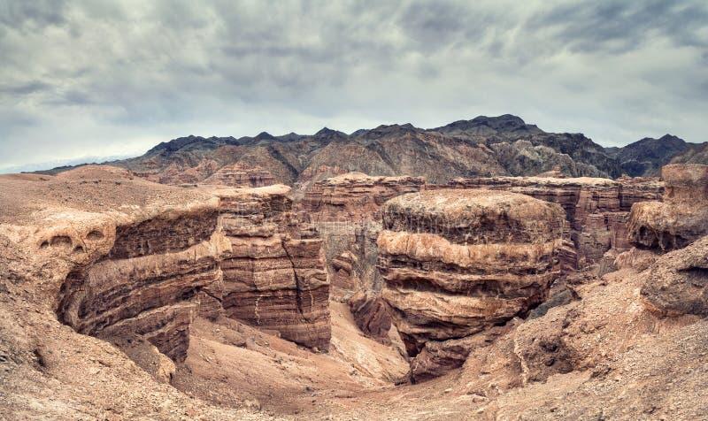 charyn kazakhstan каньона стоковые изображения
