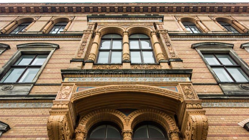 Charyzmatyczny stary budynek fotografia royalty free