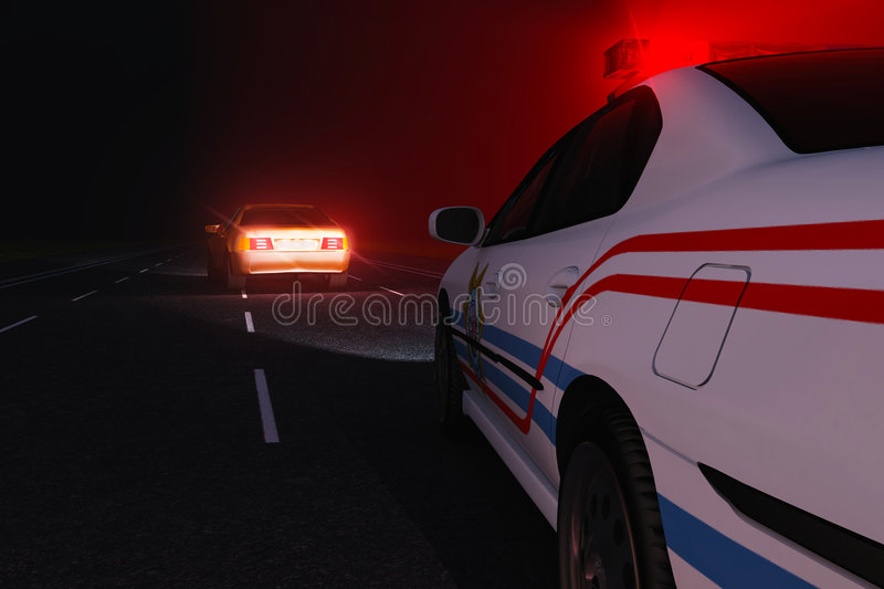 Download Chase stock illustration. Illustration of night, pursuit - 8452752