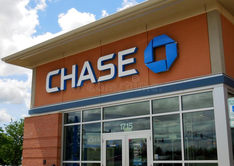 Chase Bank stock foto