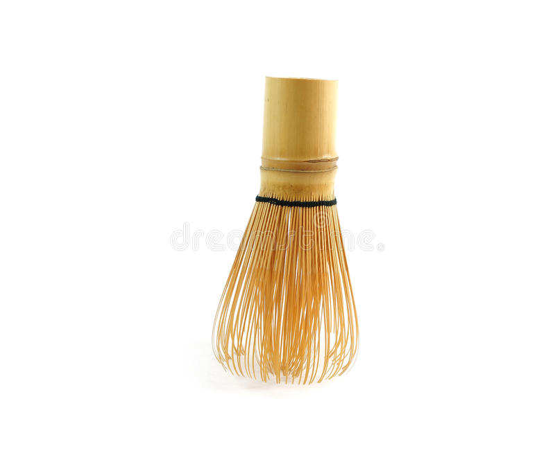 Chasen, the bamboo whisk. royalty free stock images