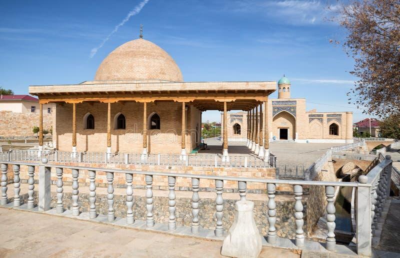 Chashma in Nurata, l'Uzbekistan fotografia stock libera da diritti