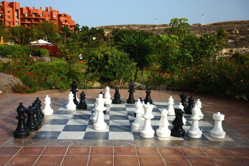 Chass grandes ao ar livre no jardim imagens de stock royalty free