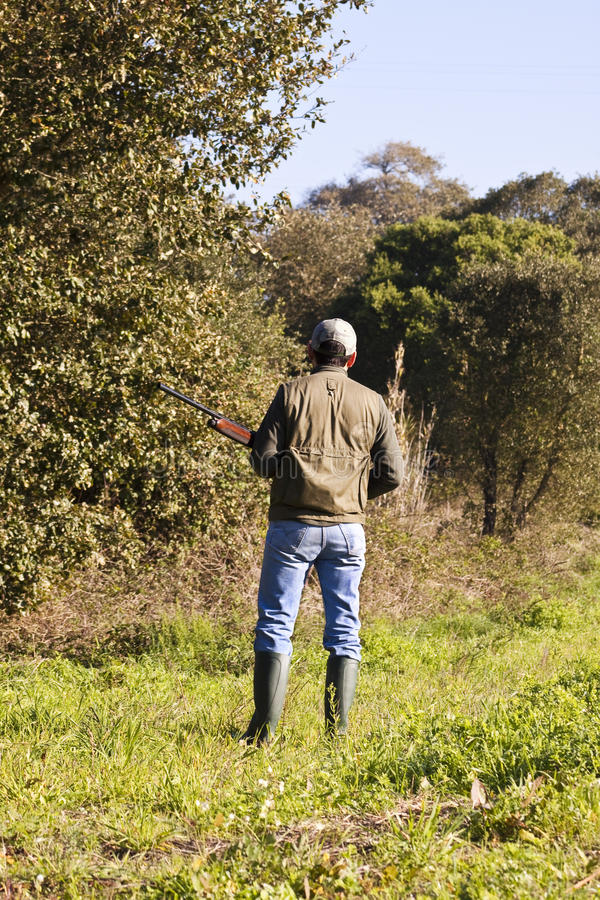 Chasse - chasseur photo libre de droits